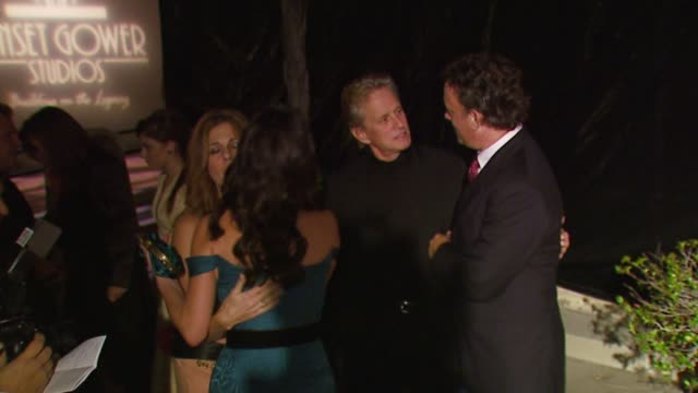 Michael Douglas Rita Wilson Catherine ZetaJones and Tom Hanks at the 'A Fine Romance' Event Celebrating the Love Affair Between Hollywood and...