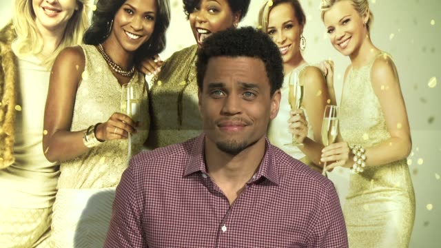 vídeos de stock e filmes b-roll de michael ealy at tyler perry's the single moms club los angeles premiere at arclight cinemas cinerama dome on march 10 2014 in hollywood california - cinerama dome hollywood