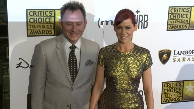 Michael Emerson Carrie Preston at Broadcast Television Journalists Association's 3rd Annual Critics' Choice Television Awards on 6/10/2013 in Beverly...