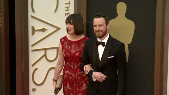 Michael Fassbender 86th Annual Academy Awards Arrivals at Hollywood Highland Center on March 02 2014 in Hollywood California