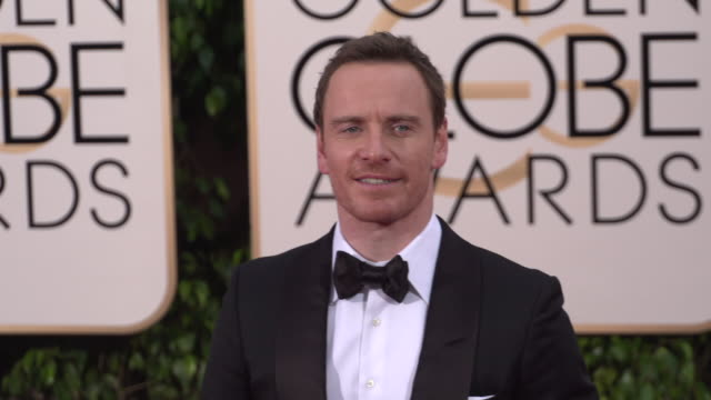 Michael Fassbender at the 73rd Annual Golden Globe Awards Arrivals at The Beverly Hilton Hotel on January 10 2016 in Beverly Hills California 4K