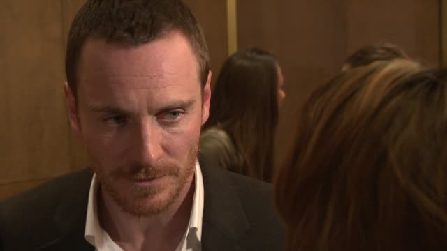 Michael Fassbender on his motorcycle trip with his father getting praise for his work not being nominated for an Oscar at A Dangerous Method UK Gala...