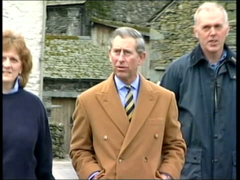 michael fawcett set to leave job as royal aide royal prince charles towards wearing camel coat as jokes with press 'what brings you lot to these... - michael fawcett stock videos and b-roll footage
