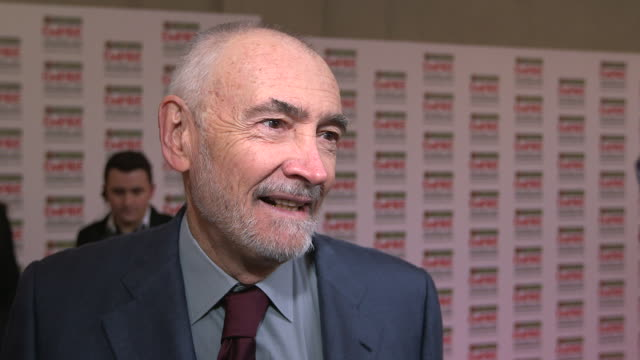 INTERVIEW Michael G Wilson on 'Skyfall' being nominated Sam Mendes not taking up the next project at The Jameson Empire Awards Arrivals at Grosvenor...