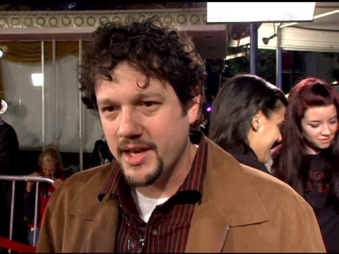 michael giacchino, composer, on the film and what else he would like to compose at the 'the family stone' premiere at the mann village theatre in... - westwood video stock e b–roll