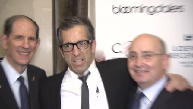 michael gould bloomingdale's chairman and ceo kenneth cole guest and mr tony spring bloomingdale's president and coo at bloomingdale's kicks off... - bloomingdales stock videos & royalty-free footage