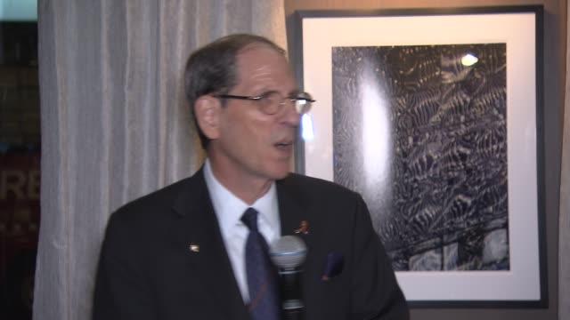 vídeos y material grabado en eventos de stock de speech michael gould bloomingdale's chairman and ceo talks about the unveiling and collaboration of the nfl cfda and bloomingdale's at bloomingdale's... - presidente de organización