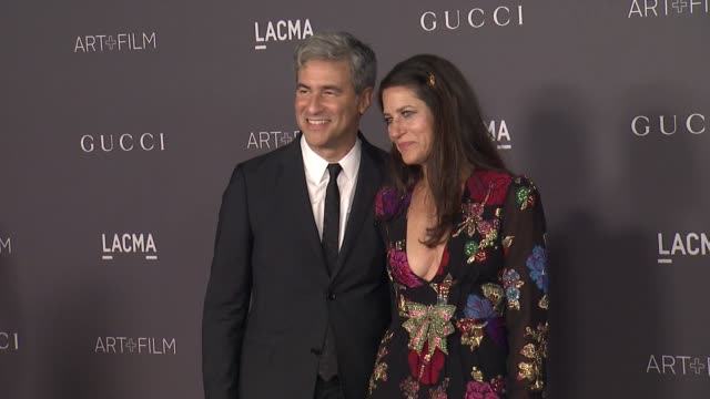 Michael Govan and Katherine Ross at the 2017 LACMA Art Film Gala Honoring Mark Bradford And George Lucas And Presented By Gucci at LACMA on November...