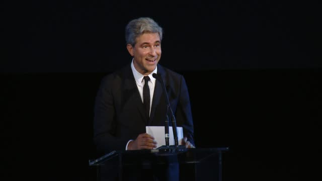 SPEECH Michael Govan at 2017 LACMA Art Film Gala Honoring Mark Bradford and George Lucas Presented by Gucci in Los Angeles CA