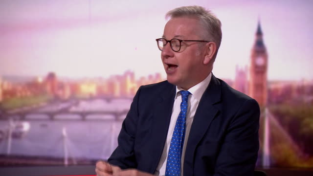 michael gove criticising andy burnham for his stance over manchester being moved into tier3 coronavirus restrictions - form of communication stock videos & royalty-free footage