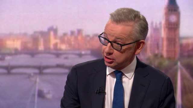 michael gove putting forward his case for being the new prime minister - leadership stock videos & royalty-free footage