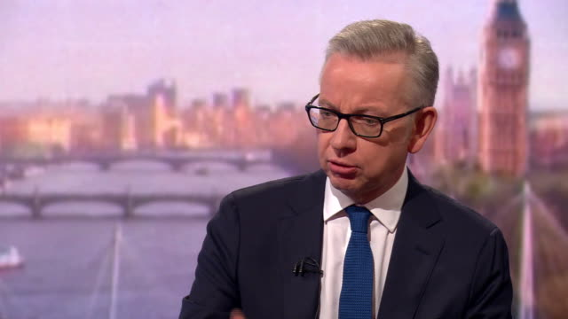 Michael Gove saying he has never failed to tell the truth when asked directly about his past cocaine use