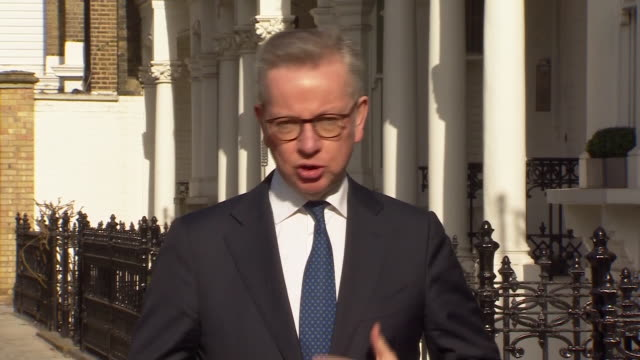 "michael gove saying people should use ""common sense"" when leaving the house during the coronavirus lockdown - running stock videos & royalty-free footage"