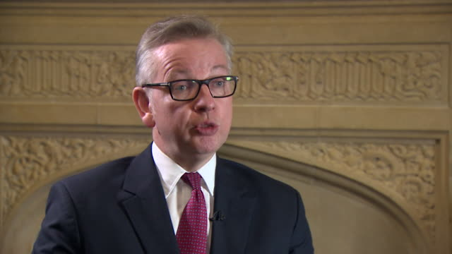 Michael Gove saying that whilst Boris Johnson has very special abilities to communicate he doesn't feel he had the capacity to lead