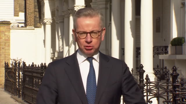 stockvideo's en b-roll-footage met michael gove saying the acceleration of coronavirus testing in the uk is significant - andrew marr