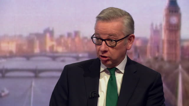 michael gove saying the conservative party needs a wide range of voices so we can have a richer conversation - michael gove stock-videos und b-roll-filmmaterial