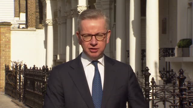michael gove saying the nhs have assured him there is nothing the uk could not do as an independent nation to supply vital equipment during the... - vitality stock videos & royalty-free footage