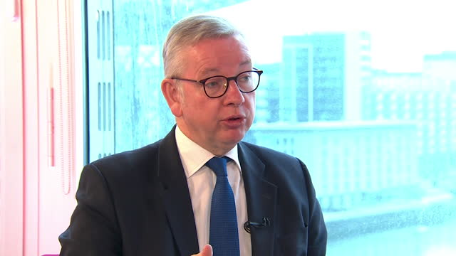 michael gove saying the public's concern will be on the coronavirus pandemic rather than independence referendums - focus concept stock videos & royalty-free footage
