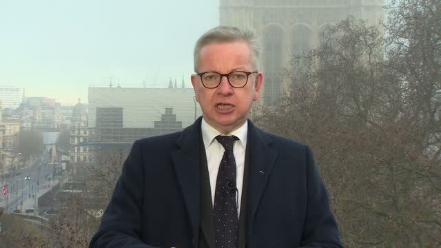 """michael gove saying uk citizens arriving in france after brexit will """"need to have their paperwork in order"""" - citizenship stock videos & royalty-free footage"""