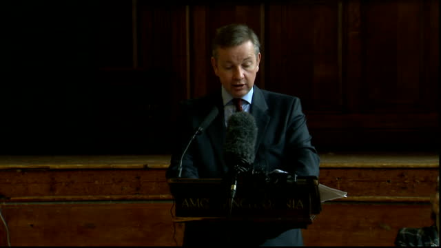 michael gove speech on academies; michael gove speech continued sot - yet again, the facts on the ground tell a different story. in the 166 sponsored... - performance improvement stock videos & royalty-free footage