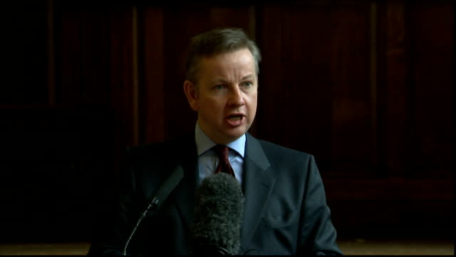 Michael Gove speech on Academies Michael Gove MP speech SOT welcome and Happy New Year/ Last month a headline appeared in the Hornsey Journal – a...