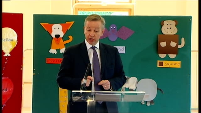 Michael Gove speech to the Durand Academy ENGLAND London Durand Academy INT Michael Gove MP speech SOT It's a huge pleasure to be here in Durand one...