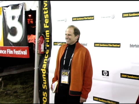 michael hoffman at the 2005 sundance film festival 'game 6' premiere at the eccles theatre in park city, utah on january 22, 2005. - park city utah video stock e b–roll