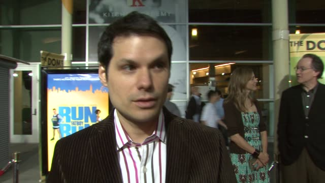 michael ian black on writing the script and how simon pegg was involved on how it turned out from paper to the big screen and on the strangest place... - simon pegg stock videos & royalty-free footage
