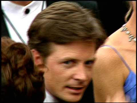 Michael J Fox at the 1997 Emmy Awards arrivals at the Pasadena Civic Auditorium in Pasadena California on September 14 1997