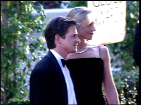 Michael J Fox at the 1997 Golden Globe Awards at the Beverly Hilton in Beverly Hills California on January 19 1997