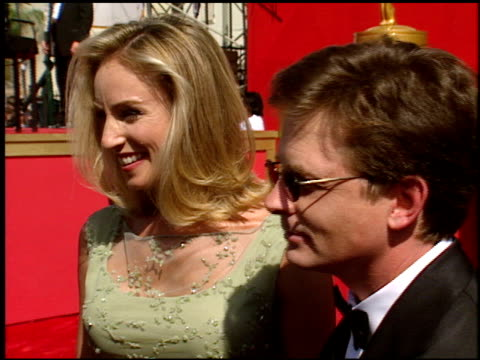 Michael J Fox at the 1998 Emmy Awards entrances at the Shrine Auditorium in Los Angeles California on September 13 1998
