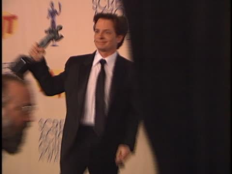 Michael J Fox at the SAG Awards at Shrine