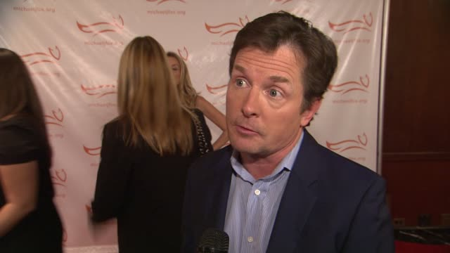 michael j fox talks about why the night is so important to him he shares what we can expect from the performers on board for the event dennis leary... - michael j. fox stock videos and b-roll footage