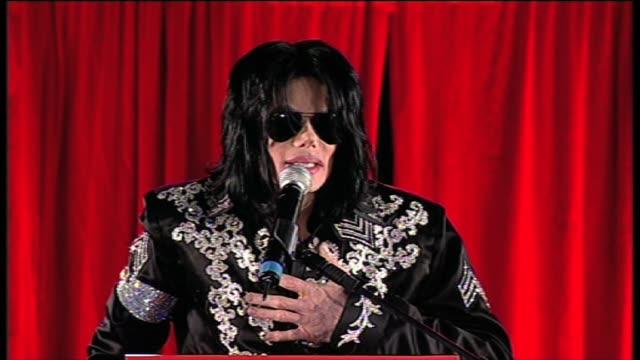 Michael Jackson Announcement