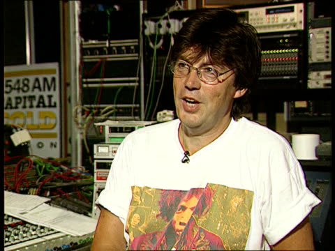 england london cms mike read intvw sot jackson has had the marriage now the divorce and possible the reconciliation to follow later - radio jockey stock videos & royalty-free footage