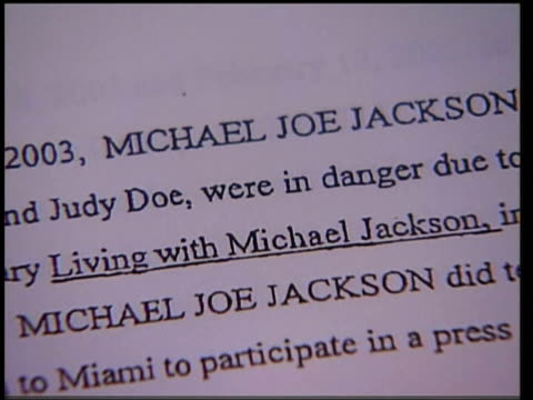 michael jackson trial: martin bashir cross examined; criminal endictment claiming that jackson's advisors issued death threats against family of... - martin bashir stock videos & royalty-free footage