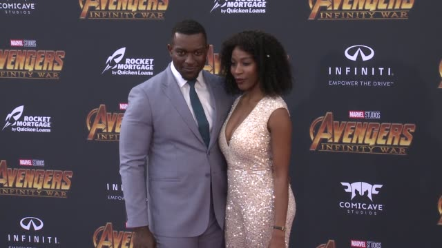 Michael James Shaw at the Avengers Infinity War World Premiere on April 23 2018 in Hollywood California