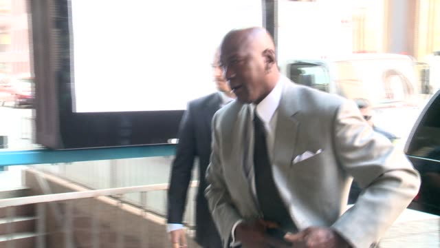 WGN Michael Jordan at a Chicago federal courthouse for a federal civil trial to decide how much money a grocerystore chain owes former Chicago Bulls...