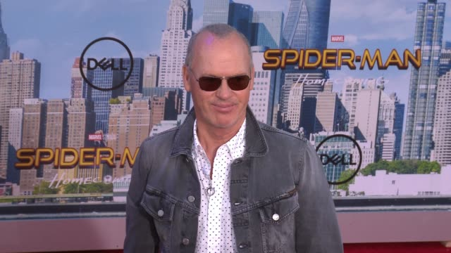 "Michael Keaton at Audi Arrivals at The World Premiere of ""SpiderMan Homecoming"" in Los Angeles CA"