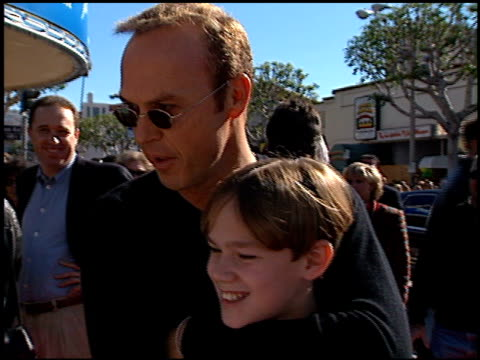 Michael Keaton at the 'Jack Frost' Premiere at the Bruin Theatre in Westwood California on December 5 1998