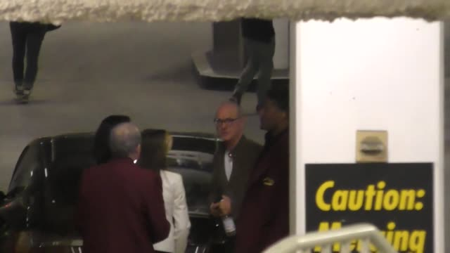 michael keaton gets cussed out by a crazy fan at arclight cinemas in hollywood at celebrity sightings in los angeles on december 10 2016 in los... - arclight cinemas hollywood stock videos and b-roll footage