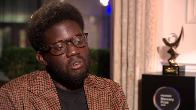 """michael kiwanuka saying he didn't worry about his """"place in the music landscape"""" for his mercury-award winning third album - worried stock videos & royalty-free footage"""