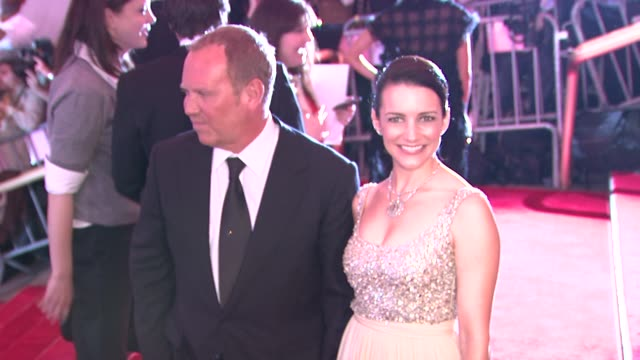michael kors and kristin davis at the superheroes fashion and fantasy costume institute gala at the metropolitan museum of art at the metropolitan... - kristin davis stock videos and b-roll footage