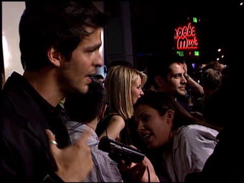 michael landes at the 'final destination 2' premiere at the cinerama dome at arclight cinemas in hollywood california on january 30 2003 - arclight cinemas hollywood stock videos & royalty-free footage