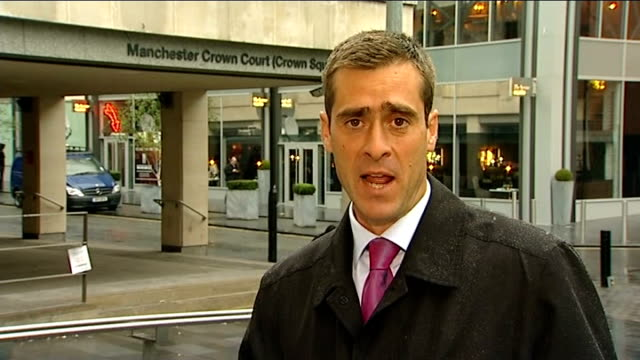 michael le vell abuse trial: day 5; reporter to camera - day 5 stock videos & royalty-free footage