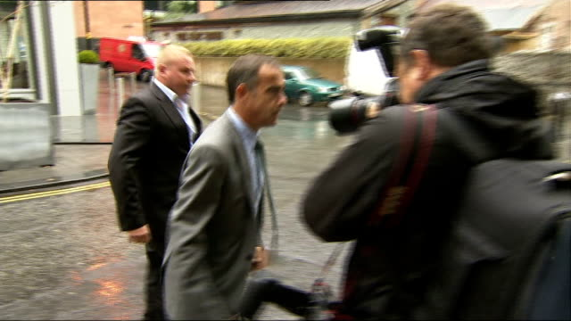 michael le vell arrives at court england manchester manchester crown court photography** michael le vell out of car and along into court past press... - マイケル レ ベル点の映像素材/bロール