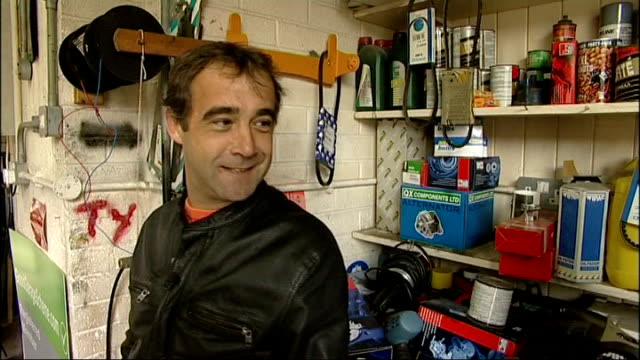 michael le vell charged with sex offences file date unknown manchester int michael le vell speaking during interview / tx michael le vell arriving at... - マイケル レ ベル点の映像素材/bロール