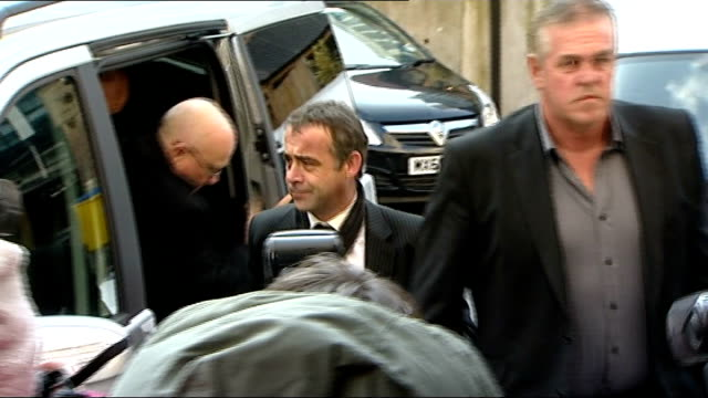 michael le vell to stand trial on child sex abuse charges court arrival england manchester manchester crown court photography** michael le vell out... - マイケル レ ベル点の映像素材/bロール