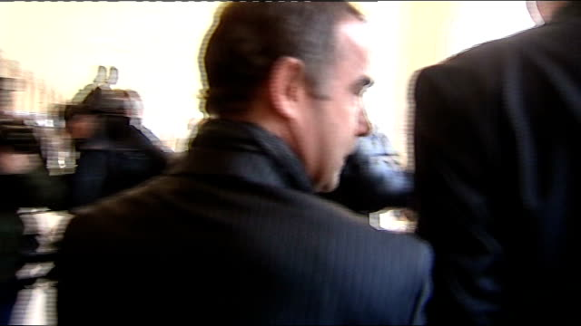 michael le vell to stand trial on child sex abuse charges england manchester manchester crown court photography** michael le vell departing court and... - マイケル レ ベル点の映像素材/bロール