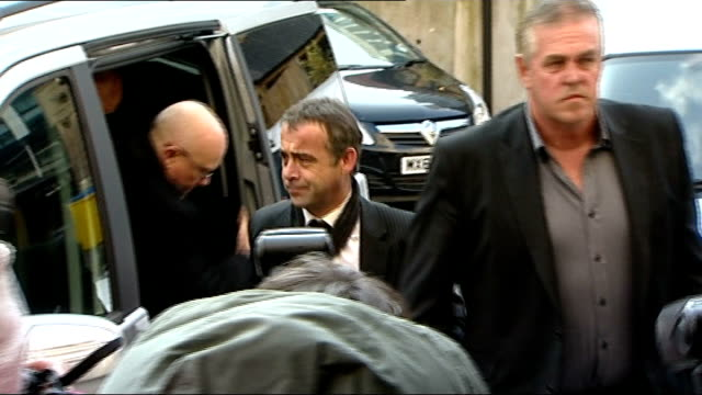 michael le vell to stand trial on child sex abuse charges england manchester manchester crown court photography** michael le vell out of car le vell... - マイケル レ ベル点の映像素材/bロール